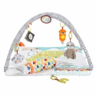 Fisher Price Animal Perfect Sense Deluxe Activity Gym Infant Baby Play Mat