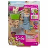 Mattel Barbie Play N Wash Pets Doll and Playset