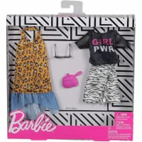 Mattel Barbie® Fashion, Animal Print,2 count