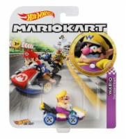 Mattel Hot Wheels® Mario Kart Wario Standard Kart Vehicle