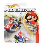 Mattel Hot Wheels® Mario Kart Mario Standard Kart Vehicle