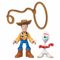 Fisher-Price® Imaginext® Disney Pixar Toy Story 4 Woody & Forky Figures