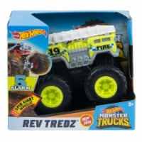 Hot Wheels Rev Tredz - 5 Alarm Monster Truck