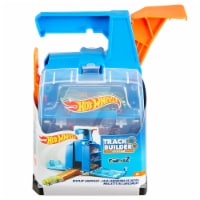 Mattel Hot Wheels® Track Builder Display Launcher - Blue/Orange