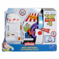 Mattel Disney Pixar Toy Story 4 Minis Buzz Lightyear's Star Adventurer Playset