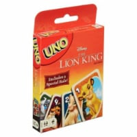 Mattel MTTGDJ81 UNO Disney The Lion King Classic Family Friendly Fun Party Interactive - 1
