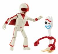 Mattel Toy Story 4 Forky & Duke Caboom Figures