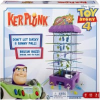 Disney Pixar Toy Story 4 Kerplunk Family Friendly Interactive Party Game Mattel - 1 unit