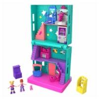 Mattel Polly Pocket Pollyville Arcade Scene