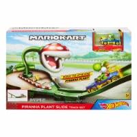 Mattel Hot Wheels Mario Kart Piranha Plant Slide Track Set