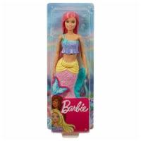 Barbie Mermaid Pink Hair Doll - 1 Unit