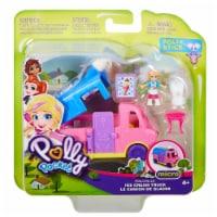 Mattel Polly Pocket Pollyville Ice Cream Truck
