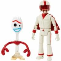 Toy Story 4 Forky & Duke Caboom Figures Disney Pixar Stuntman Mattel - 1 unit