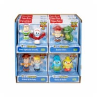 Mattel MTTGHH53 Little People Toy Story 4 Toys - 2 per Pack, Pack of 12 - 1