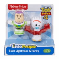 Fisher-Price® LittlePeople Toy Story 4 Buzz Lightyear & Forky Figures