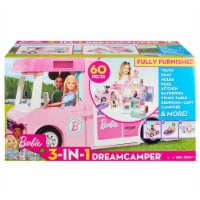 Mattel Barbie® 3-in-1 DreamCamper Vehicle and Accessories Playset
