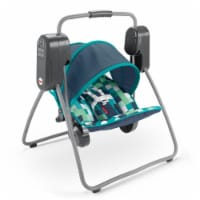 Fisher Price On the Go Baby Swing w/ 6 Swinging Speeds and UPF Protected Canopy - 1 Unit