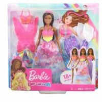 Barbie Dreamtopia Dress Up Mermaid Fairy Brunette Gift Set - 1 Unit