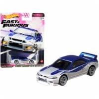 Mattel Hot Wheels® Fast & Furious Nissan Skyline GTR Model Car - Silver/Blue