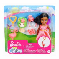 Barbie Chelsea Club With Flamingo Costume And Pet Doll Set - 1 Unit