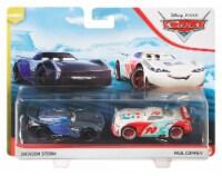 Disney Pixar Cars Jackson Storm & Paul Conrev Toy Racers - 2 pc