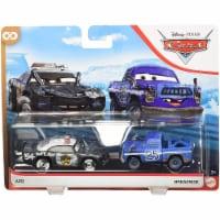 Mattel Disney Pixar Cars APB & Broadside Toy Vehicles - 2 pc