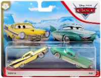 Disney PIXAR Cars Flo and Nicky B Toy Cars - 2 pk