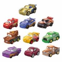 Disney & Pixar Cars Mini Racers Derby Series Kids Toy w/ Smokey & More, 10 Pack - 1 Unit