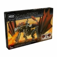 Mega Construx™ Black Series Game of Thrones Daenerys & Drogon Toy - 735 pc