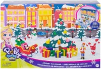 Polly Pocket Advent Calendar Featuring a Winter Wonderland Holiday Theme & 25 Surprises