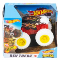 Hot Wheels Monster Trucks Rev Tredz Mega Wrex Vehicle