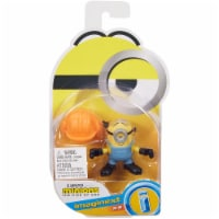 Fisher Price Despicable Me Minions: Rise of Gru Imaginext Stuart with Hard Hat Mini Figure