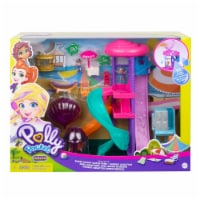 Mattel Polly Pocket Pollyville Super Slidin Water Park Playset