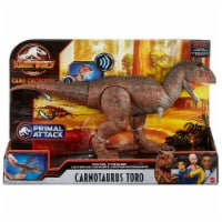 Mattel Jurassic World Control N Conquer Carnotaurus Toro Figure