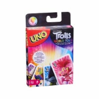 Mattel Trolls 2 Uno Card Game
