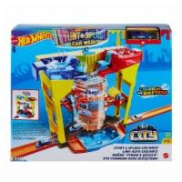 Mattel Hot Wheels® Stunt Splash Car Wash Playset - 1 ct
