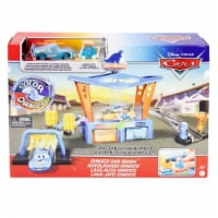 Mattel Disney Pixar Cars Color Change Dinoco Car Wash Playset - 1 ct