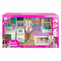 Mattel Barbie Fast Cast Clinic Medical Playset - 1 ct