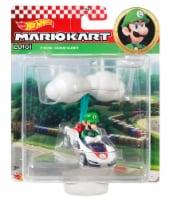 Mattel Hot Wheels® Mario Kart Luigi P-Wing + Cloud Glider Figure - 1 ct