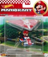 Mattel Hot Wheels® Mario Kart Mario Standard Kart + Super Glider Figure