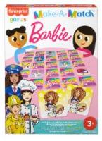 Mattel Fisher-Price Make-A-Match Barbie Card Game