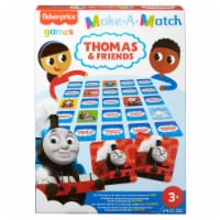 Mattel-Fisher Price Make-a-Match Thomas & Friends Card Game