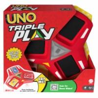 Mattel UNO Triple Play Card Game - 1 ct