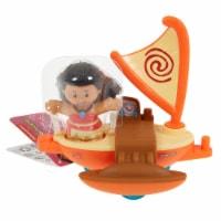 Fisher-Price® Little People Princess Moana Oar Vehicle - 1 ct