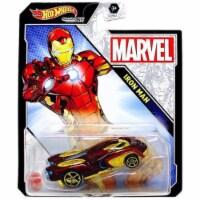 Hot Wheels Character Cars Marvel Iron Man Vehicle 2021 - 1
