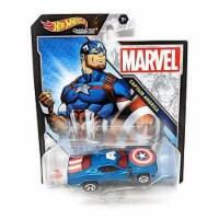 Hot Wheels Character Cars Marvel Captain America Vehicle 2021 - 1