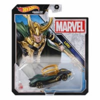 Hot Wheels Character Cars Marvel Loki Vehicle 2021 - 1