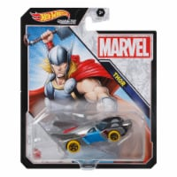 Hot Wheels Character Cars Marvel Thor Vehicle 2021 - 1