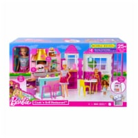 Mattel Barbie® Cook 'n Grill Restaurant Doll and Playset - 1 ct
