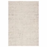 Jaipur Living RUG141871 Arvo Abstract Power Loomed Area Rug, Silver & White - 12 x 15 ft. - 1